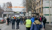 2. Pro-Diesldemonstartion in Stuttgart am 19.01.2019